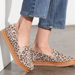 TOMS Palma Leather Wrap Slip Ons
